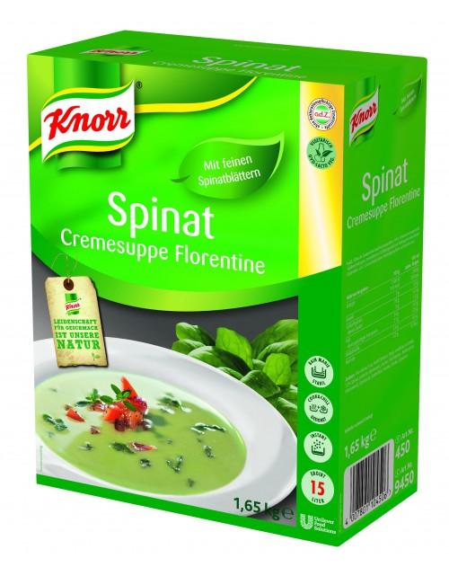 Крем супа спанак 1.65 кг