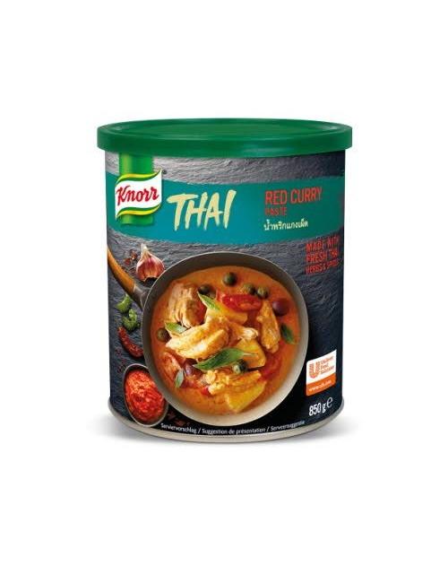 Knorr Тайландска червена къри паста 0.850 кг