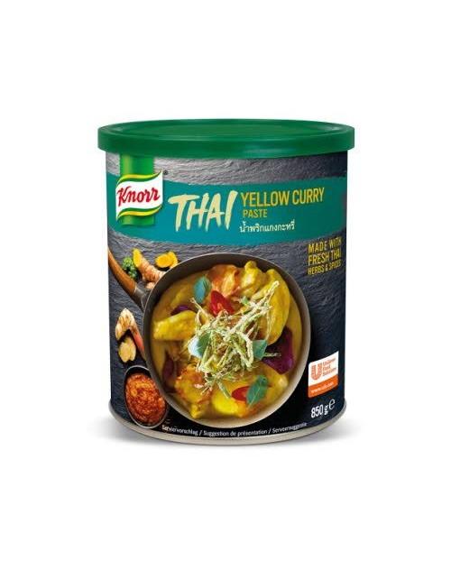 Knorr Тайландска жълта къри паста 0.850 кг