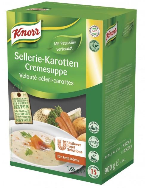 Крем супа зеленчукова 1.65 кг