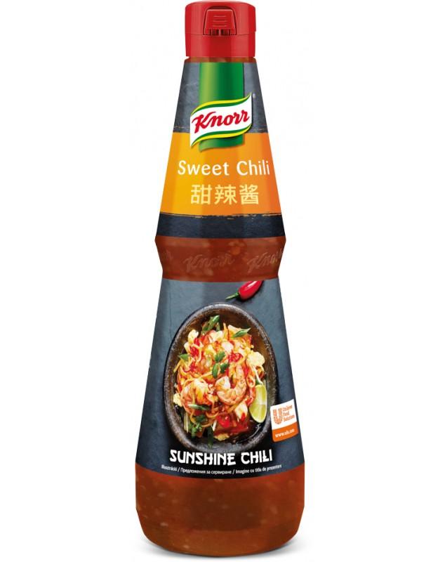 Sunshine chili пикантен сос с чили и чесън 1 л