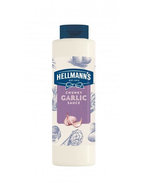 Hellmann`s чеснов сос 850мл