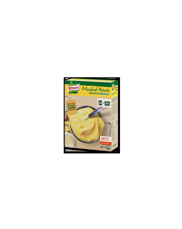 Картофено пюре с мляко 4 кг