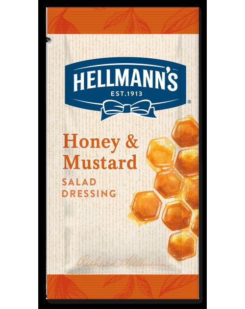 Hellmann's салатен дресинг мед и горчица - доза 30 мл - 50 броя в кашон