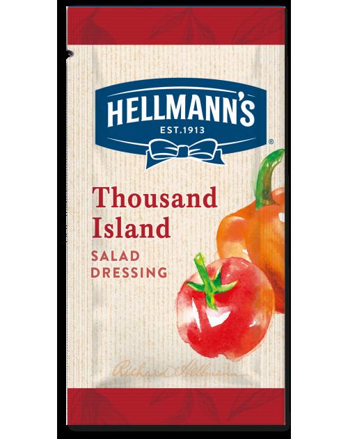 Hellmann's салатен дресинг Хиляда острова - доза 30 ml - 50 броя в кашон