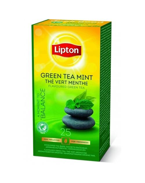 Lipton чай мента 25 бр