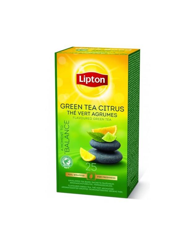 Lipton Зелен Чай Цитрус 25бр.