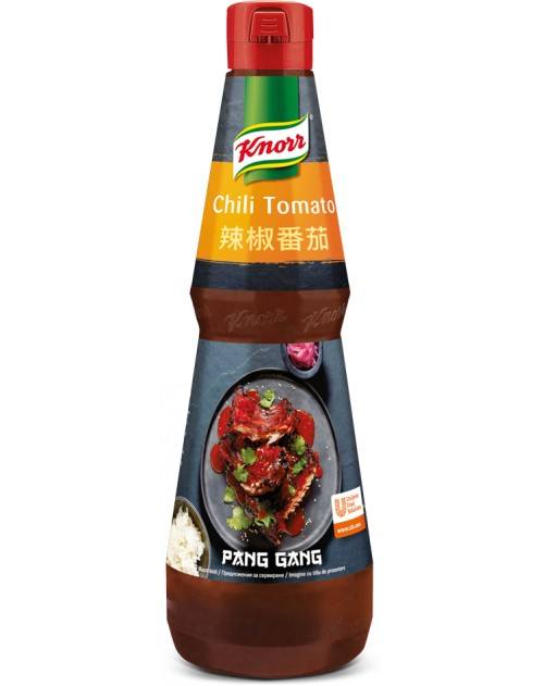 Pang Gang Пикантен сос с чили и домати 1л
