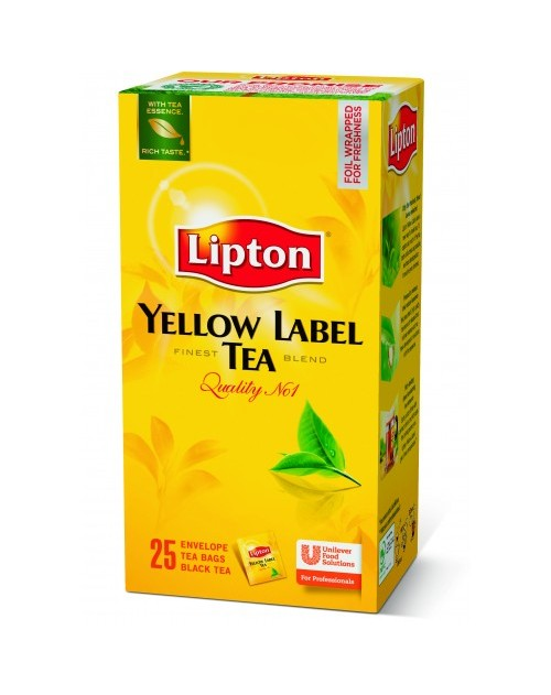 Lipton Yellow Label Tea 25бр.