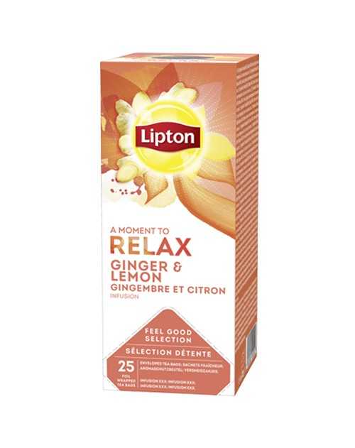 Lipton Лимон И Джинджифил 25бр.