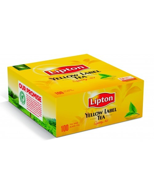 Lipton Yellow Label Tea 100бр.